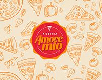 Amore Mío - Pizzeria Branding