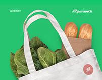 Online food store - website