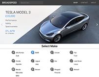 Website Design for BroadSpeed
