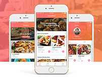 Yummy Place - App Design