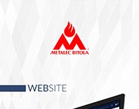 Metalec Bitola / Website
