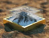 Bouncy Mountain - Octane C4D