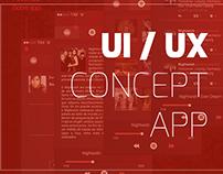UI/UX Nightwish App Concept