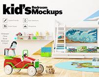 Kids Bedroom Design - Mockup Download