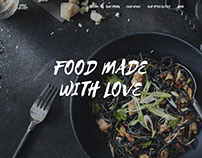 FOOD LOVERS - Web Design