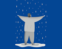 """Book Cover for """"La ballata dei giorni di pioggia"""""""
