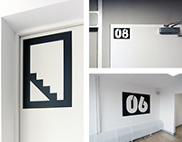 2014 | Polonez – Room identification signs