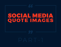 SOCIAL MEDIA QUOTE IMAGES - PART 1
