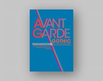 Avant Grade - Typography Poster