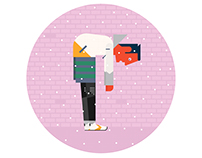 Urban Outfitters Blog Illustration