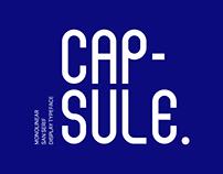 Capsule - San Serif Typeface