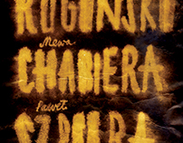 Rogiński + Chabiera + Szpura / poster