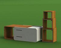 WOODEN BOX -School Project