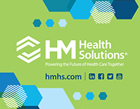 HM Health Solutions Trade Show Branding for 2018
