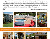 Riverstone Residential Group Promo Design