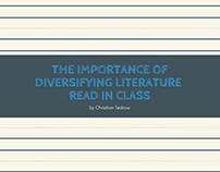 Diversifying Class Literature slides