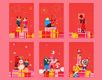 Bosideng CNY celebration