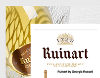 Ruinart Champagne - Exclusive landing page