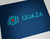 Quaza Solutions Logo Design