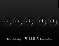 Mercedes - Benz | 1 Millionth Fan