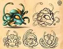 Medusa Character Design