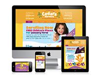 Website Design & Branding: Cedars Nursery