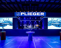 Stage design - Plieger internal event