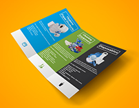 Tri-fold Brochure || Clean Sense