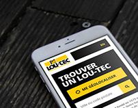 LOU-TEC - Redesign web