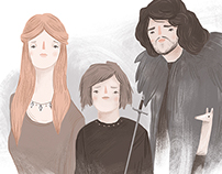 Game of Thrones - Illustrations