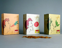 Student work 2012 / Pasta packaging design