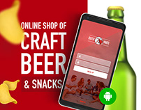 More Piva - online beer store mobile app