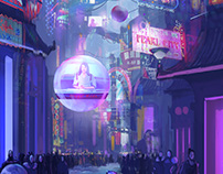 Scifi World Concept