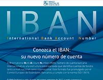 IBAN - Conozca su nuevo número de cuenta