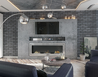The apartment in the Loft style