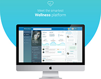 'Wellness Platform' Web-Mobile UI Design