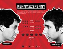 Kenny VS Spenny Infographic