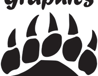 Bear Paw Graphic Logo