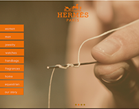 Website Redesign for Hermes