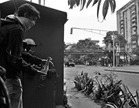 20 de abril en la avenida O'Higgins de Caracas