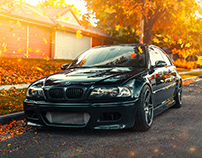 2004 BMW M3 Fall Shoot