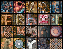 Aerial alphabet #AEROCEDARIO