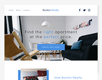 Boston Realty // UI Design