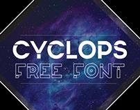 Cyclops FREE TYPFACE