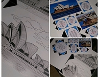 Sydney Opera House Sketches, research, final presentan