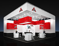 WIS Fakuma Booth Visualization for BBCO MesseManufaktur