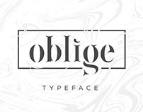 Oblige Font