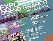AFICHE EXPO-DISEÑO GRÁFICO