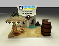Royal Caribbean Booth