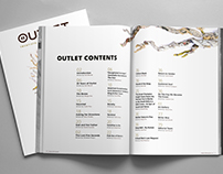 BYUI Outlet 2017 Editorial Style Layout